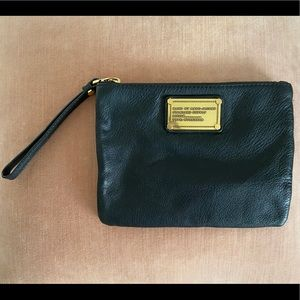 Marc by Marc Jacobs leather wristlet/clutch